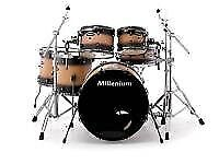 Millenium stage birch, chestnut burst fade 6 piece kit