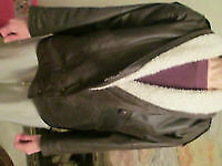 Leather Bomber Jacket London Ontario image 1