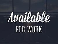 Work wanted. Manager   executives   freelance