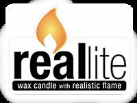 Reallite - Flameless Wax Candles with Realistic Flame **NEW**