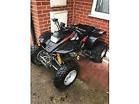 road legal quad ram 250cc cash or swaps for bike