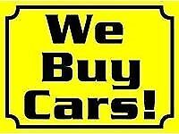 WE BUY ANY CAR OR VAN 2004 ONWARDS WITH OR WITHOUT MOT