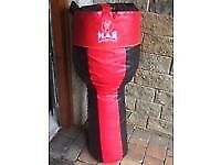 M.A.R punch bag with heavy angle bracket