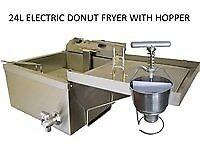 Donut Nut Fryer With Donut Hopper 24L en197 (nov)
