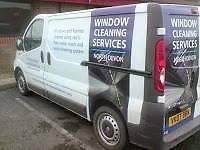 Window cleaning services north Devon