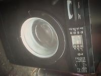 for sale black bosch digital washing machine