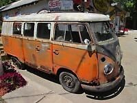 Westfalia Split window bus campeur