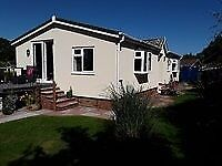 3 BED LARGE SUPERB PARK HOME IN DEVON, LARGE SECLUDED GARDEN AND PLENTY OF PARKING