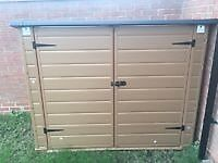 Plastic Garden Bike Shed / Tool Storage - BRAND NEW Flat Packed