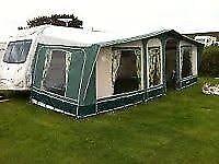 Trio Sport Caravan Awning - good condition.