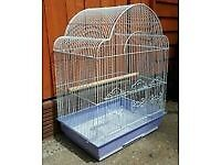 Budgies and Hamster cages with accessories