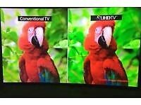 """32"""" TV selling it for £60,price is negotiable and guaranteed."""