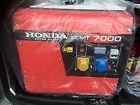New Honda generator 7kva 13hp silent