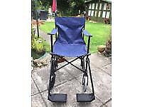 Mobility Walking Frame x2 / Folding Wheelchair