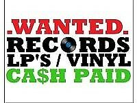 VINYL RECORDS WANTED JOB LOTS