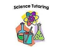 GCSE and A level science tutoring