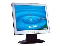 """ACER 15"""" LCD PC Monitor"""