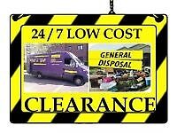Collection (TODAY) 📞WASTE removal same day Rubbish tip runs house clearances man&van clean outs 📞