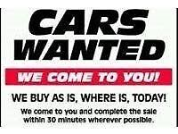 WE BUY YOUR UNWANTED SCRAP CARS AND VANS