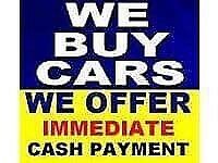 We Buy Cars Vans and 4x4 for cash