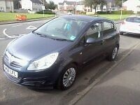 CORSA 2007 NEW SHAPE MOT FULL YEAR TAX SAME 5DR OUT STANDING 1.4CC BE QUICK