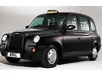 Black Cab Taxi Driver Required