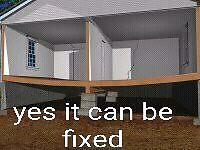 Let's level it unlevel or rotting away we can fix it Kingston Kingston Area image 1
