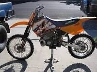 KTM exc 250 breaking all parts available Enduro 1996 model in vgc parts on website