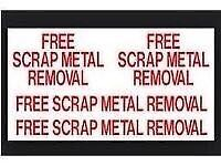 Wanted Free scrap metal fast collection all areas we cover