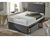 Price Match Deal Same Day Free Delivery Bed Mattress and Headboard