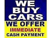 We Buy any car van 4x4 even spares or repairs for cash