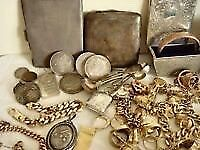 Wanted Gold Silver watches medals antiques