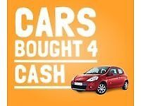 All cars WANTED , BOUGHT for CASH , SAME DAY