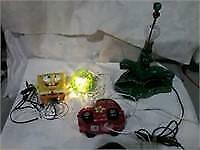 Lot of 4 Asstd Lamps/Lights