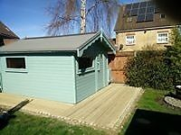 Fencing, patios, decking, landscape gardening, garden clearance, jet washing, painting, decorating