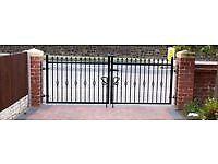 Wroug iron driveway gates 6-20ft £15 per ft