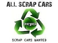 Scrap cars and vans wanted
