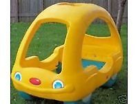 Child's little tikes car bed