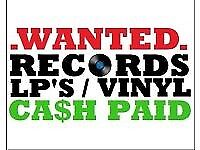 Wanted records vinyl 60s 70s 80s 90s 2000s
