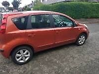 56 plate Nissan note