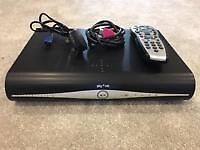 SKY HD BOX WITH BUILT IN WIFI WITH REMOTE,POWER LEAD & HDMI LEAD WORKING CONDITION
