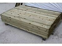 Fence boards treated 6ft