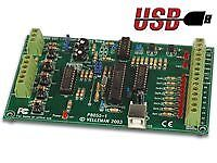 USB Interface Board (Vellman VM110)