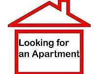 Wanted Furnished 2 bedroom Apartment