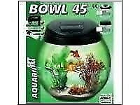 Glass Fish Bowl Aquarium 45L
