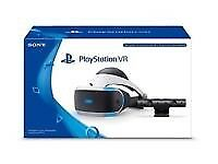 PS VR Headset with PlayStation Camera and ps4 black slim 500gb