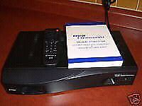 Express VU Receiver Box with original remote control and card