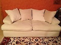 Large comfortable sofa in good clean condition from smoke and pet-free home. All covers washable.