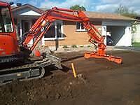 Excavation a meilleur prix!!!( a l'heure ou contrat)
