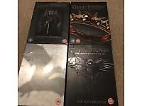 Game of thrones series 1,2,3,4